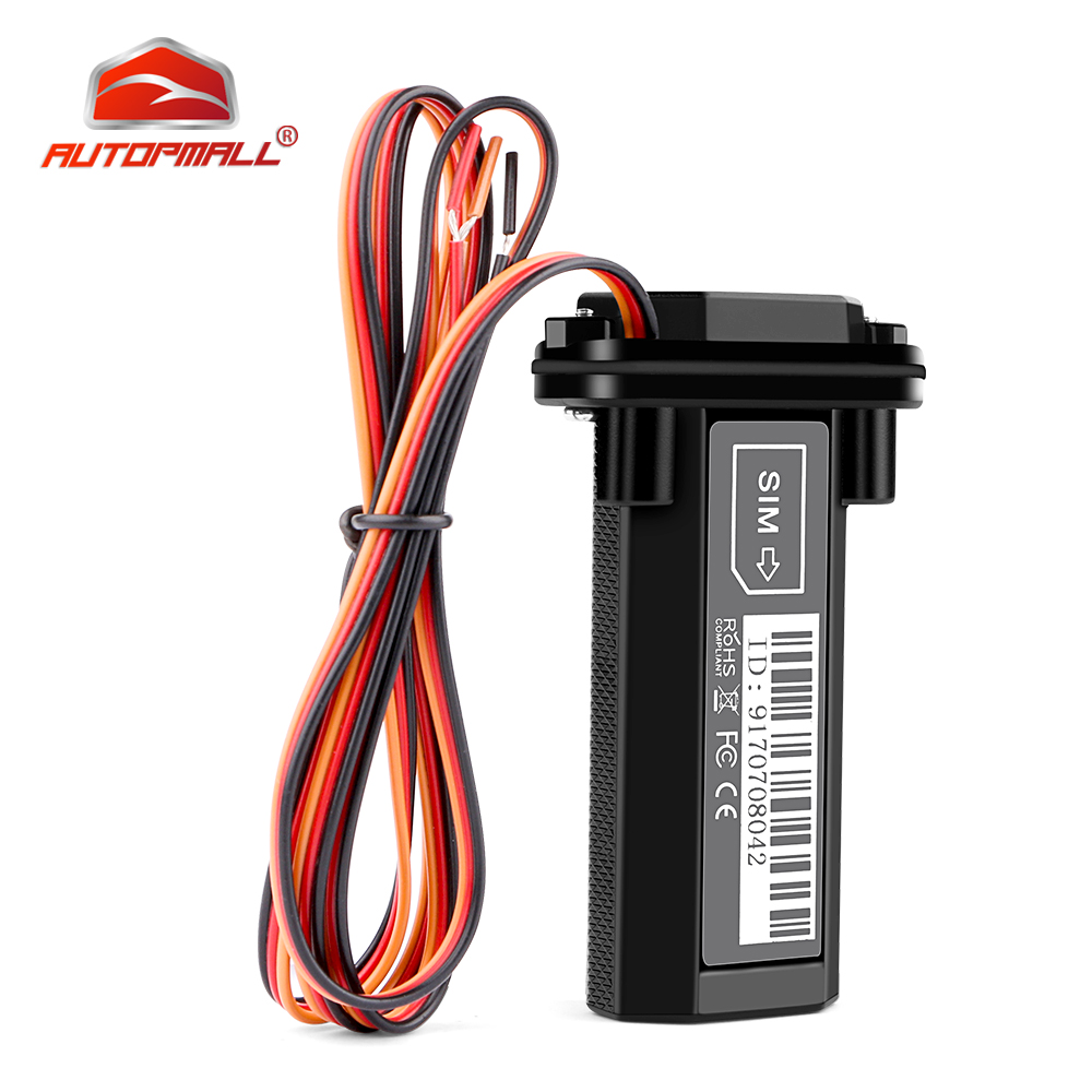 3G Mini <font><b>GPS</b></font> Tracker Car Waterproof Vehicle Motorcycle Tracker Built-in 370mAh Battery Power Off Alarm Free APP Upgrade ST-<font><b>901</b></font> image