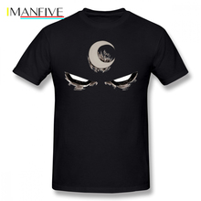 Jessica Jones T Shirt Moon Knight T-Shirt 6xl Men Tee Fun Fashion Printed Short Sleeves 100 Percent Cotton Tshirt
