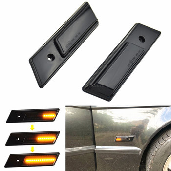 Led Dynamic Turn Signal Light Marker Sequential Blinker Lamp For BMW E24 E28 E30 M3 E32 E34 M5 E36 Side Lights Streamer Models image