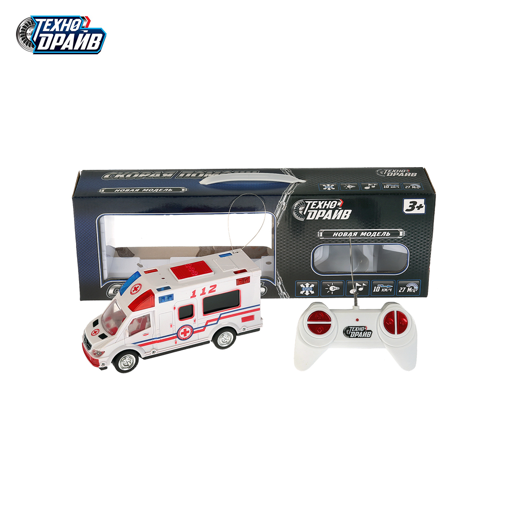 RC Cars Techno-drive 267561 echnodrive machine radio-controlled battery ypewriter with remote control toy for boy