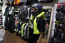 New long-distance use motorcycle locomotive Mobility airbag reflective vest Knight riding vest safety clothing