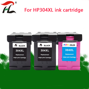 Image 1 - YLC Replacement for HP304XL Ink Cartridge 304XL 304 Ink Cartridge new version for hp deskjet envy 2620 2630 2632 printer