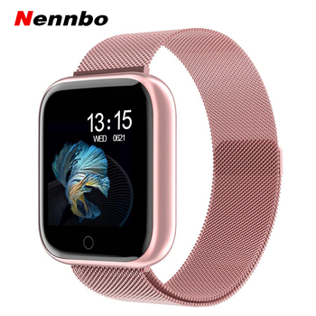 2019 New Women Waterproof Smart Watch T80/P70 Bluetooth Smartwatch For Apple IPhone Xiaomi Heart Rate Monitor Fitness Tracker 1