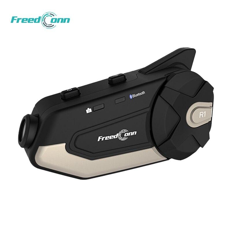 Libre R1 1080P HD Wifi R1 moto interphone casque Bluetooth casque interphone vidéo capture enregistreur caméra interphone