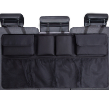Organizador de maletero de coche asiento trasero ajustable bolsa de almacenamiento red de alta capacidad Multi-uso Oxford Organizadores de respaldo de asiento de coche Universal