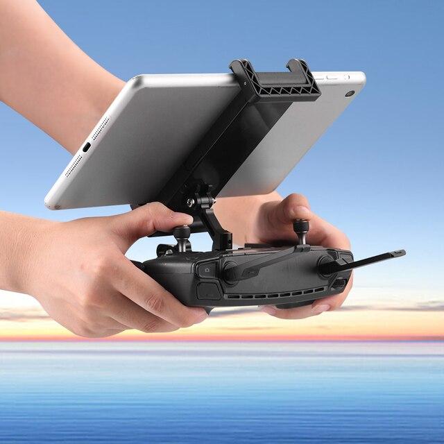 แท็บเล็ตBracket Monitor Holder MountสำหรับDJI Mavic Air Mavic Pro Platinum 2 ซูมSpark Drone TransmitterสำหรับiPad 7.9 9.7in