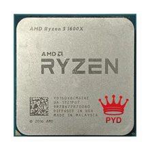 Amd Ryzen 5 1600X R5 1600X 3.6 Ghz Zes-Core Twaalf-Draad Cpu Processor 95W L3 = 16M YD160XBCM6IAE Socket AM4