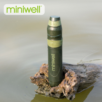 Miniwell Outdoor Entertainment Camping filtr wody zestaw survivalowy słomy tanie i dobre opinie 0 05 micron 98 g 200ml min 35*180mm 1000L ABS PP Carbon Fiber UF(medical grade) 5 years(After Initial Wetting 3 years)