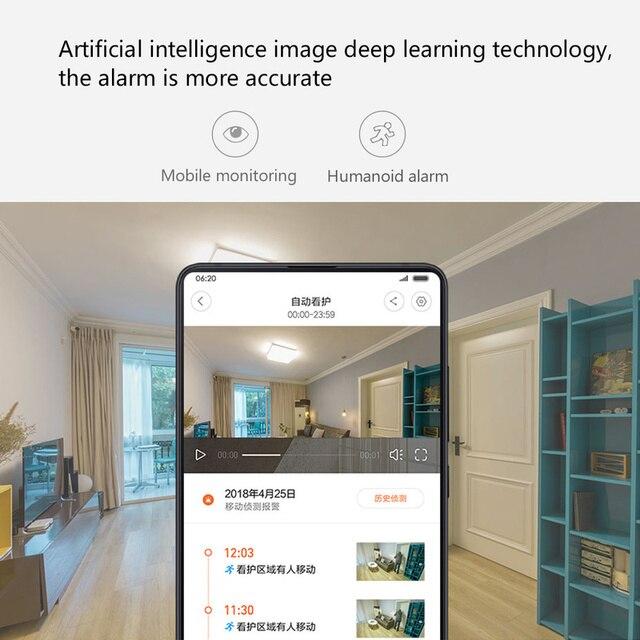 Xiaomi Mijia Xiaobai Smart Camera Enhanced Edition AI control 1080p Smart Web IP Cam 360 View Baby Monitor 5