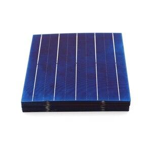 Image 4 - Panneau solaire en silicium polycristallin 10/50/80/100 pièces 156*156mm cellule solaire 6x6 Grade A PV bricolage photovoltaïque Sunpower C60 4.79W 0.5V