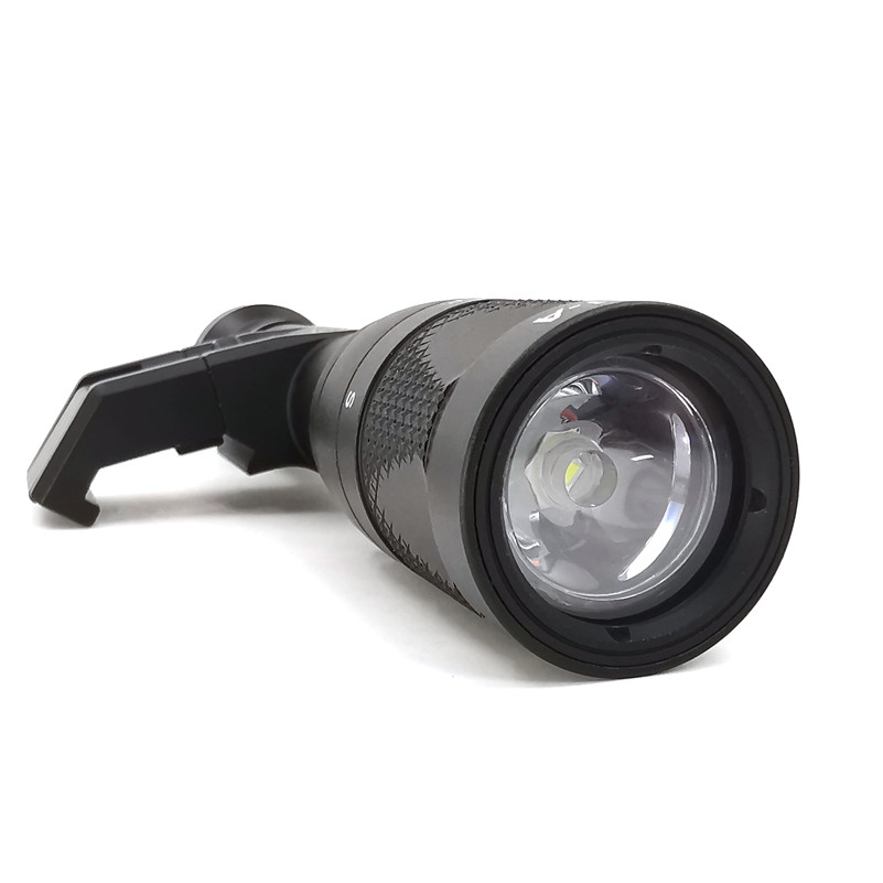 Tático airsoft arma luz fm m600v led