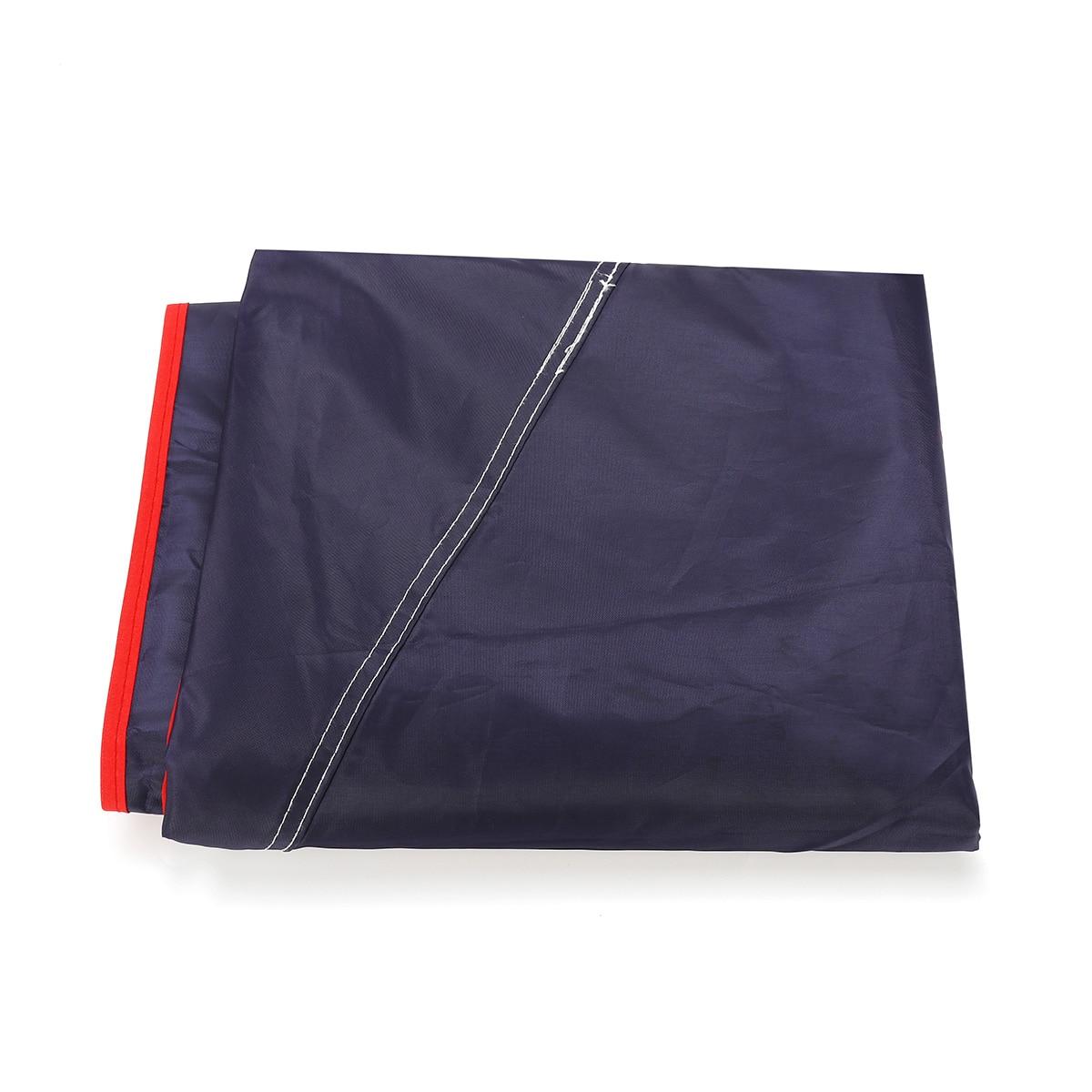 4.5x2.3 M/4.2x2.1 M Portable extérieur voiture véhicule tente voiture parapluie soleil ombre couverture Oxford tissu Polyester couvre sans support - 2
