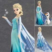 Дисней Холодное сердце 2 1 Принцесса Эльза Олаф набор фигурка Анна Кристофф Свен ПВХ игрушки Дети Девочка День рождения Рождественский подарок