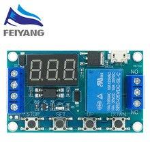 Module de relais de commutateur 6-30V, minuterie de Cycle réglable