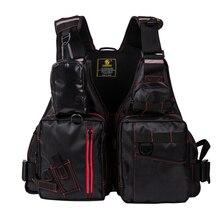 Мульти Карманный открытый спасательный жилет для рыбалки 220 кг плавучести Рыболовный Жилет Мульти-карман жилет для плавания плавающая морская куртка