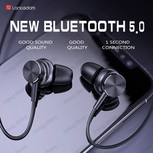 Langsdom Sports Bluetooth headphone L33 portable super bass stereo Magnetic Switch gaming headset HIFI headphone with microphone