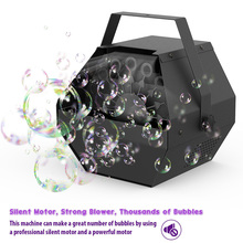 Bubble-Machine Professional Parties Laser-Stage-Lights Romantic-Effect-Light Wedding