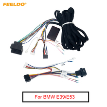 Feeldo Auto 16Pin 6 Meter Verlengd Kabelboom Kabel Met Canbus Voor Bmw E39(01 04)/E53(01 05) Aftermarket Stereo