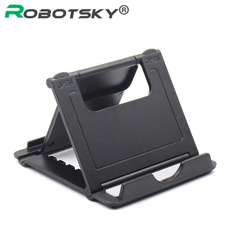 Desktop Mobile Phone Support Anti-slip Mat Lazy Holders Universal Bracket Adjustable Phone Holders Bracket Stand Tablets Support