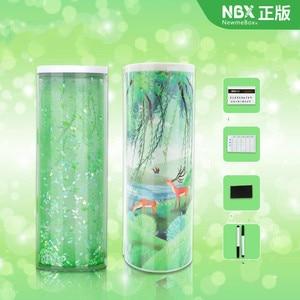 Image 5 - 2020 NEW Creative Whiteboard  kawaii Pencil Case With Solar Calculator Multifunctional Pencilcase  Pen Box For boy girls