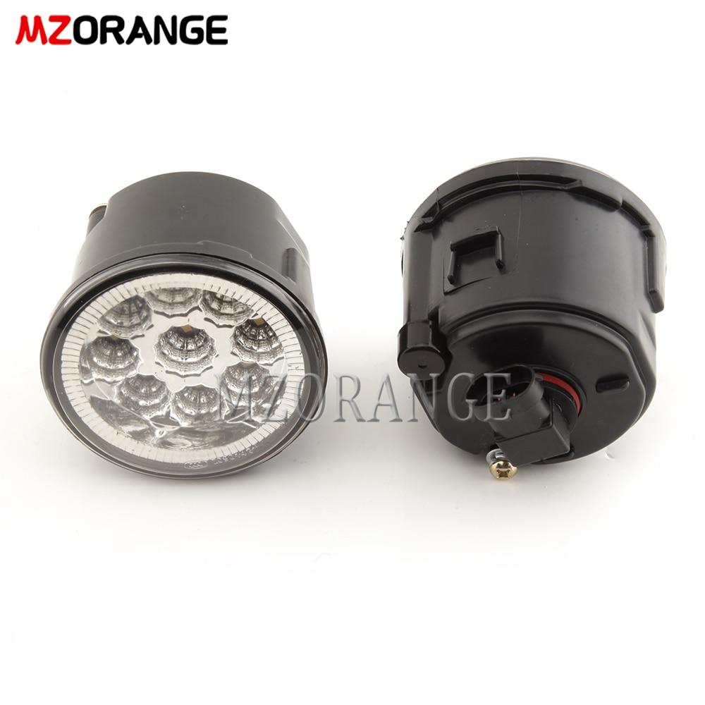 MZORANGE Fog Light Front Bumper H11 Halogen Bulb For Cube Juke Murano Quest Rogue Versa
