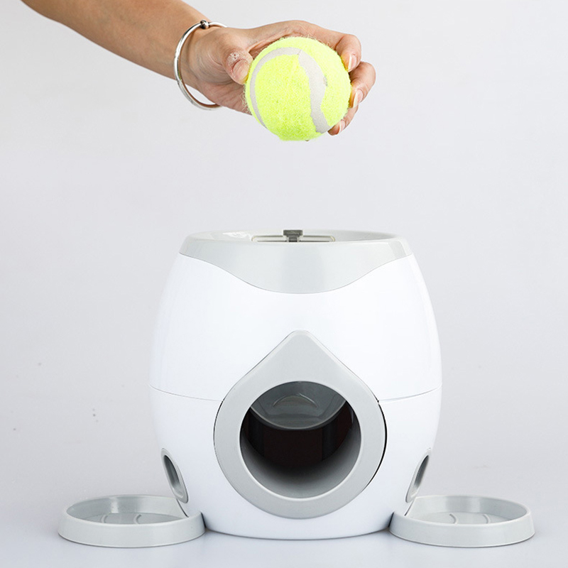 Pet Dog Puppy Interactive Fetch Ball Trainning Baseball Reward Machine Tennis Pet Funny Toys For Small AnimalsDog Toys   -