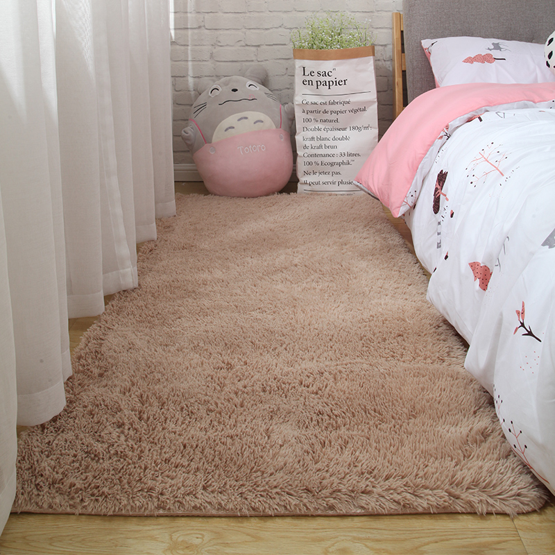 Fluffy Tie Dye Carpets For Bedroom Decor Modern Home Floor Mat Large Washable Nordica in the Living Room Soft White Shaggy Rug 24
