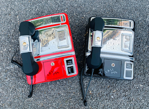 Image 2 - Black & Red Patent Leder Telefon Stil Frauen Mode Kette Geldbörsen und Handtaschen Schulter Tasche Umhängetasche Messenger Bag 2020 Geldbörsen