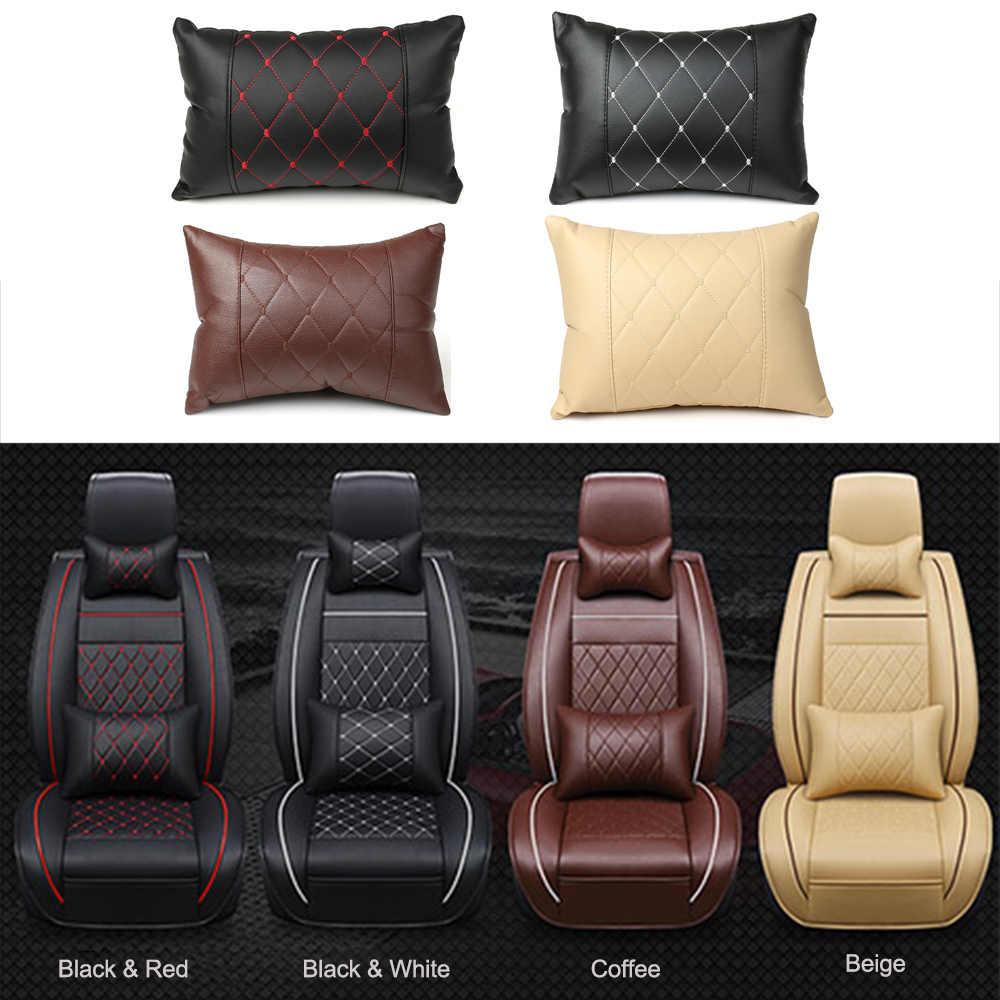Acessórios do carro encosto almofada de volta travesseiro apoio traseiro travesseiro decoração interior