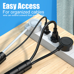 Image 5 - SAMZHE Cable Holder Organizer 1.5m Length Flexible Spiral Tube Cable Organizer Wire Management Cord Protector Cable Winder