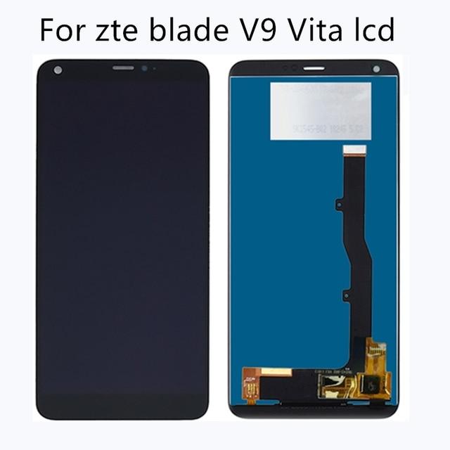 """5.45 """"Per ZTE Lama V9 Vita Display LCD Touch Screen del pannello di Vetro Digitizer Accessori di ricambio Per ZTE V9 vita kit di riparazione"""