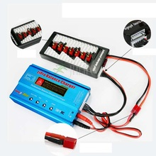 iMAX B6 80W XT60 LiPo Battery Balance Charger + B6AC Lipo Charging XT60 Adaptor Board 2 6S For RC Battery