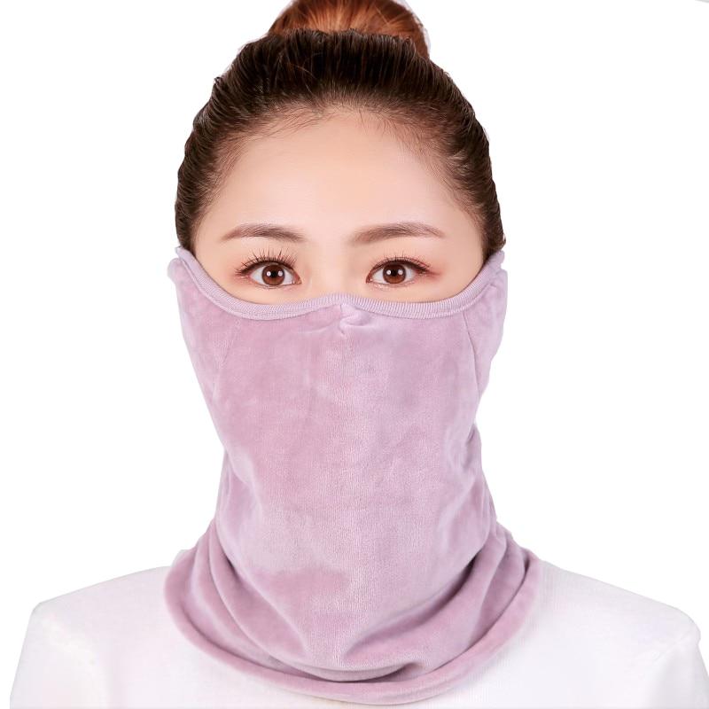 2018 Women Men Dust-proof Face Mask Windproof Winter Warmer Face Scarf Mask Neck AD0670