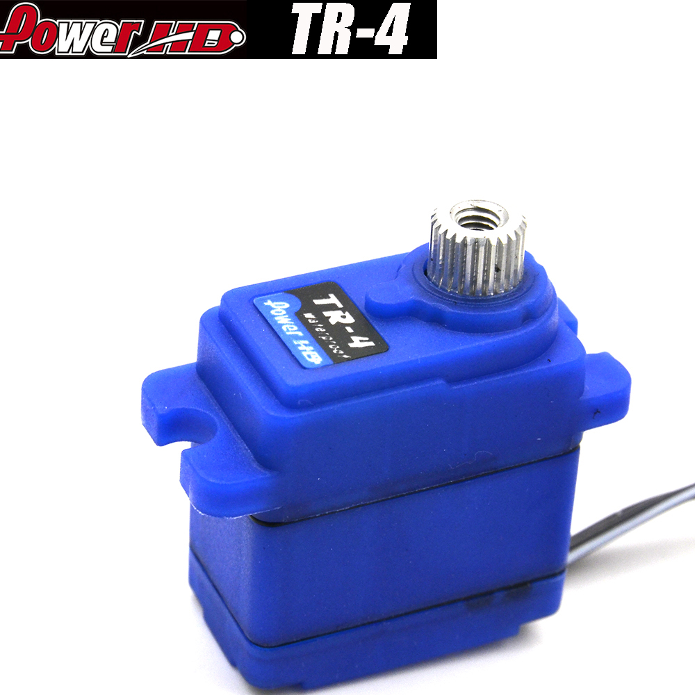 Discount©Gear-Servo Model-Parts TR4 Metal Powerhd Mini Waterproof for RC Vehicles