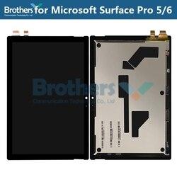 Para Microsoft Surface Pro 5/6 pantalla LCD para Microsoft SurfacePro5 1796 LP123WQ1 pantalla LCD montaje Original