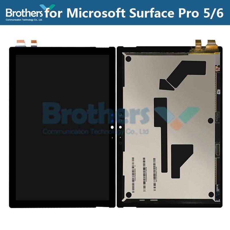 Pour Microsoft Surface Pro 5/6 écran LCD écran LCD pour Microsoft SurfacePro5 1796 LP123WQ1 écran LCD assemblée pièce d'origine