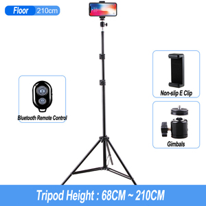 Image 4 - Aluminum Tripod With Bluetooth For iphone Gopro Xiaomi Huawei Cell Phone Live Photography Selfie Tripod For Tiktok Vlog Camera