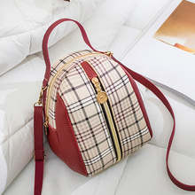 Double shoulder bag for women, Japan and South Korea new Japanese chic soft girl messenger bag for checked female students simple canvas backpack japan and south korea version of the bag men s youth campus students travel shoulder bag