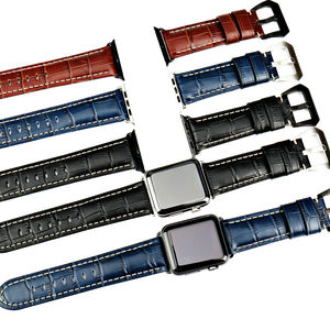 Image 3 - MAIKES watchbands genuine cow leather watch strap for Apple Watch Band 42mm 38mm series 4 1 iwatch 4 44mm 40mm  watch bracelet