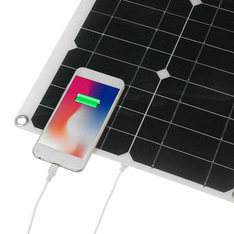 Kit Panneau solaire souple 100W avec contrôleur de charge
