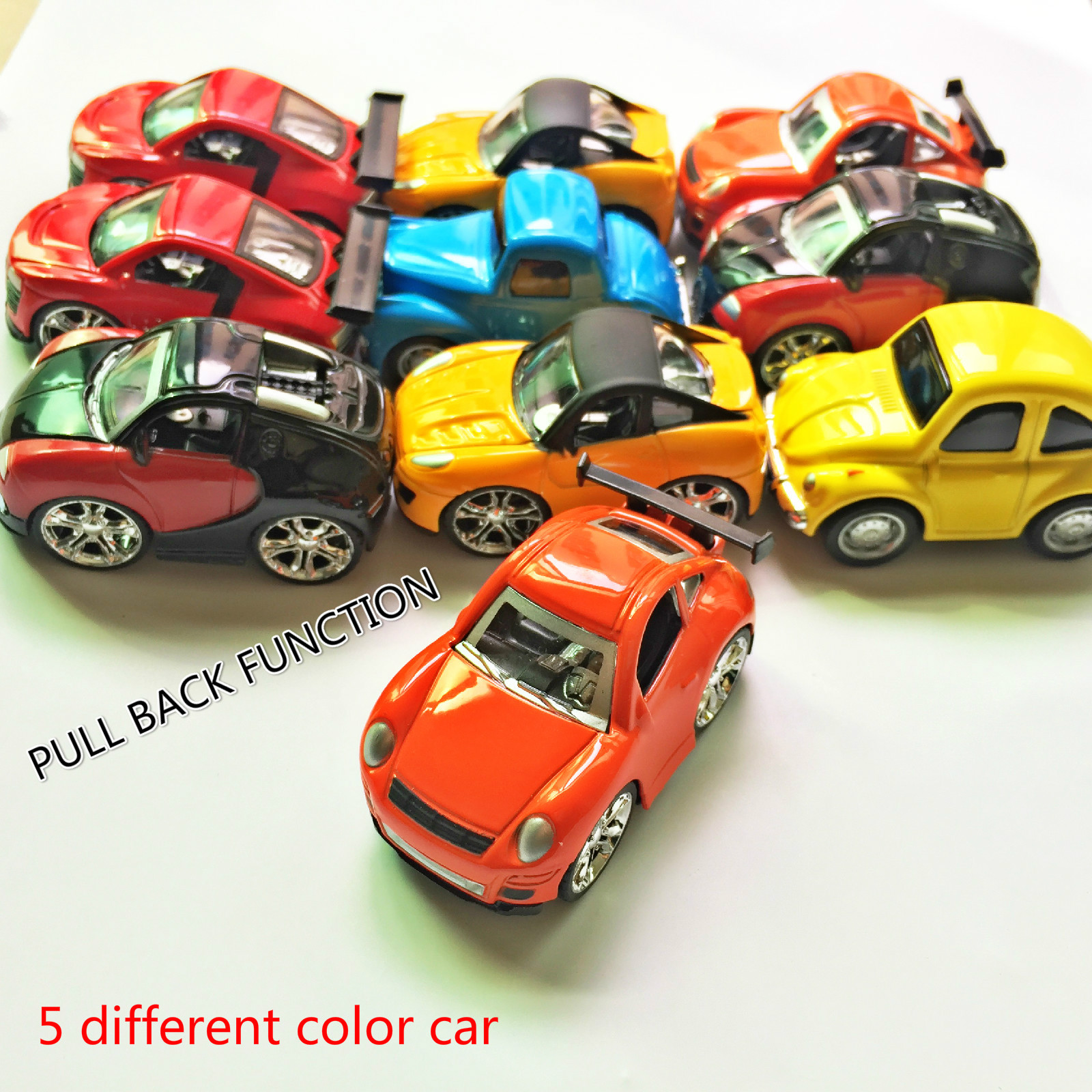 5PCS METAL CAR