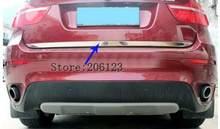 Задняя Крышка багажника из нержавеющей стали для bmw x6 e71