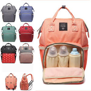 Travel Backpack LEQUEEN Designer Baby-Bag Maternity-Nappy-Bag Large-Capacity Fashion