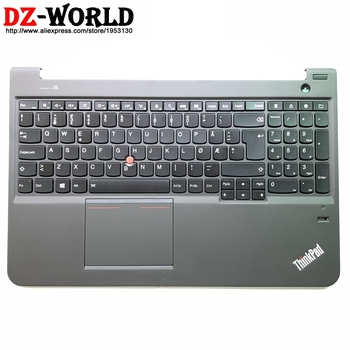 Norwegian Backlit Keyboard with Palmrest Touchpad for Lenovo Thinkpad S5 S531 S540 Norway Backlight Teclado 00HM881 04X1829
