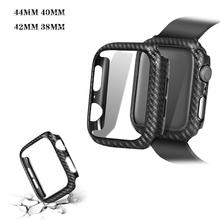 PC hard armor Case for apple watch 4 40/44MM Frame Protective Bumper Cover iwatch 3 2 1 38/42MM For accessories