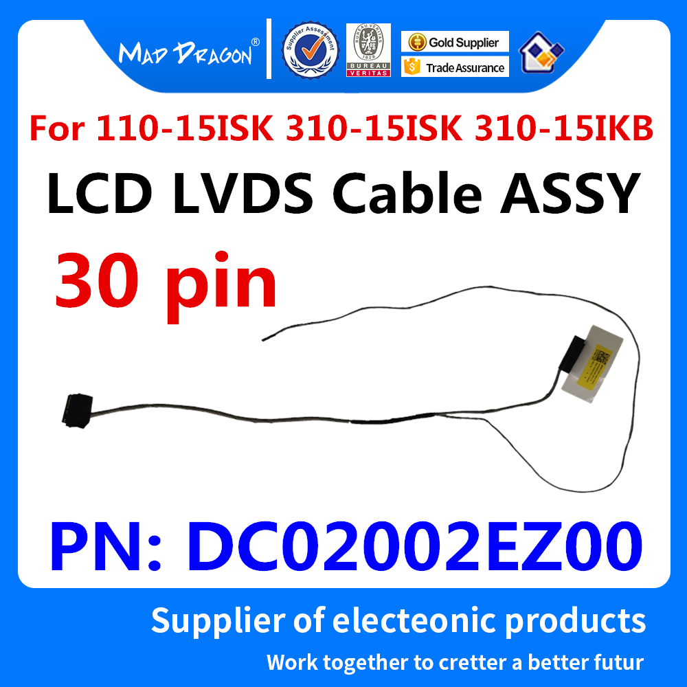 Original LCD LVDS LED VIDEO DISPLAY SCREEN CABLE P//N:DD0G37LC001