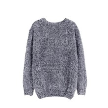 2019 Fashion High-quality Autumn Winter Sweaters Female Soft and Comfortable Warm Slim Mohair Pullovers Long Sleeve Sweater #E