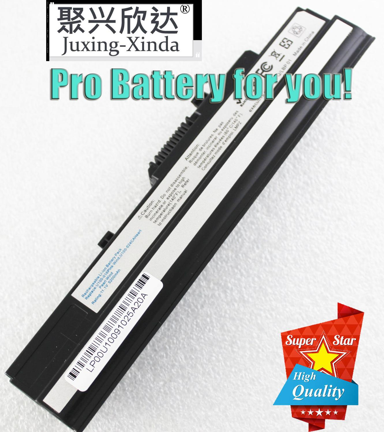 Laptop Battery For MSI BTY-S11 BTY-S12 Wind U100 L1300 L1350 L1350D U100X U100W U135DX U210 U270 U90X Wind12 U200 U210 U230 X110(China)