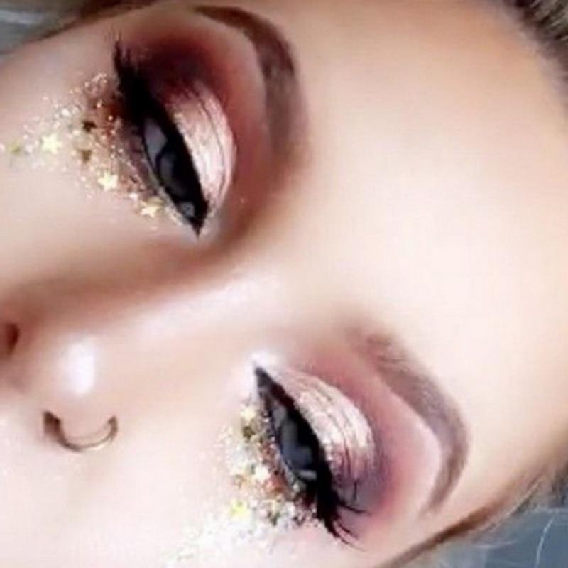 Купить с кэшбэком Freck Flash Tattoo Personality Fashion Disposable Waterproof Bronzing Freckles Gold Face Tattoo Beauty Makeup Body Art Stickers