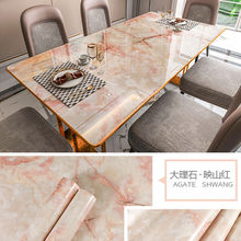 Renovation Stickers Marble Waterproof Wallpapers PVC Kitchen Table Pasters Oilproof Countertop DIY Self Adhesive Wall Stickers